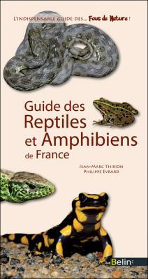 Couverture Guide des Reptiles et Amphibiens de France
