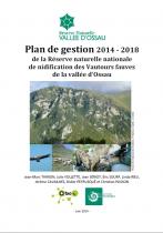 Couverture du plan de gestion 2014-2018 de la Réserve Naturelle Nationale de la vallée d'Ossau