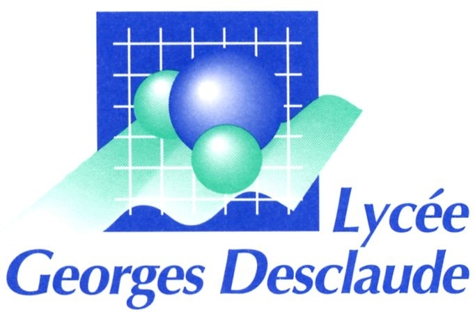 Logo Lycée Georges Desclaude