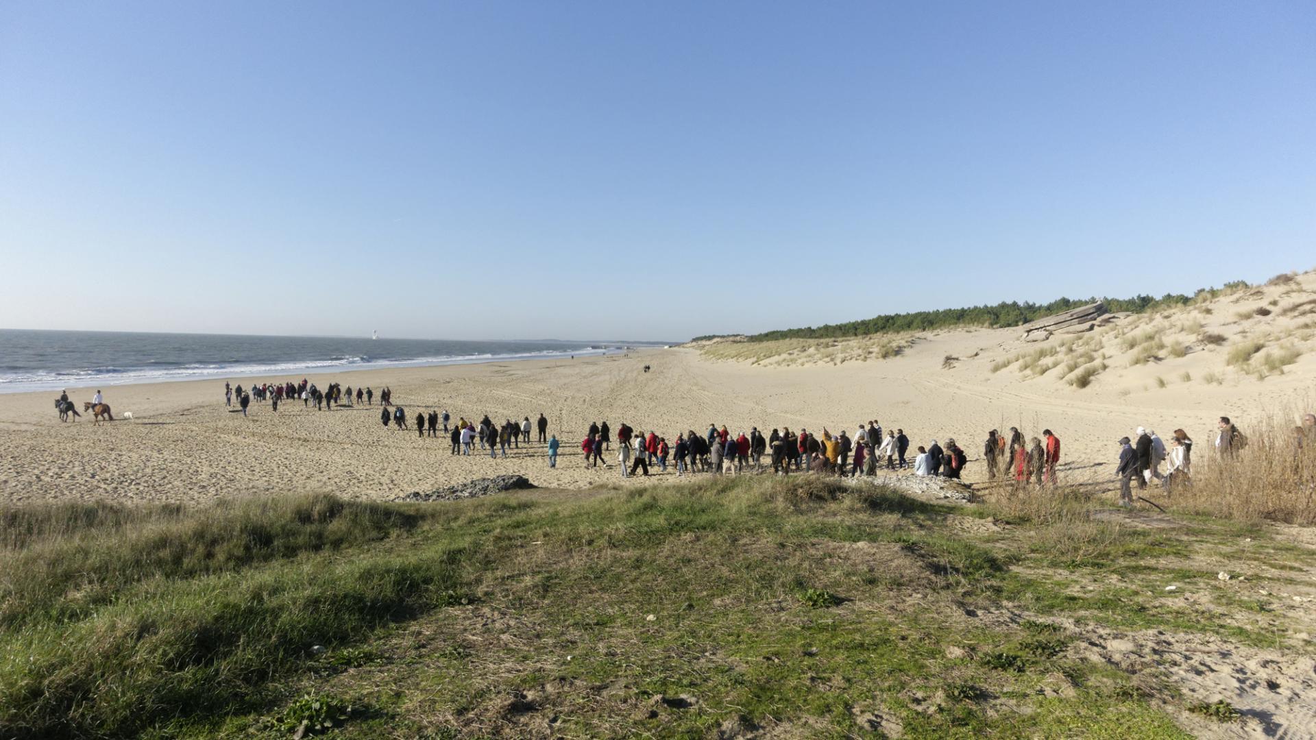 Marche pour le climat en Presqu'île d'Arvert