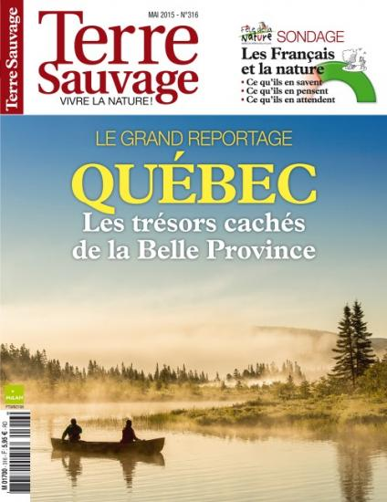 Terre sauvage couverture mai 2015