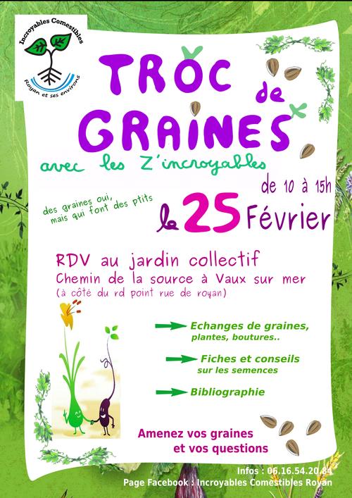 Troc graines 25 02 2017